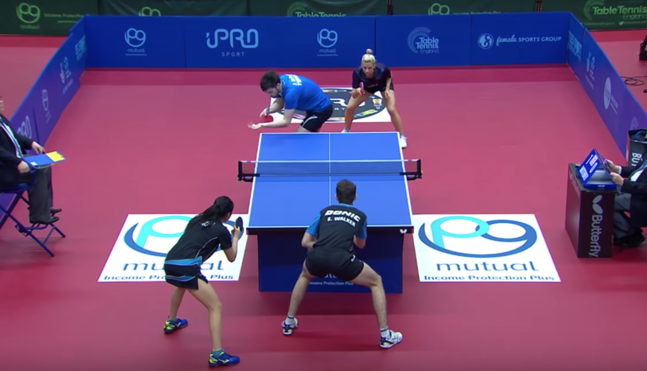 Understanding Ping Pong Doubles Rules Ping Pong On